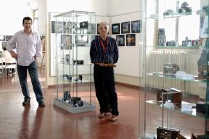 Maurizio Gardini e Mauro Corneo con le loro macchine d'epoca
