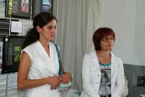 Silvia Lupi, Presidente della Proloco, Emilia Albertelli Vicesindaco di Cortebrugnatella