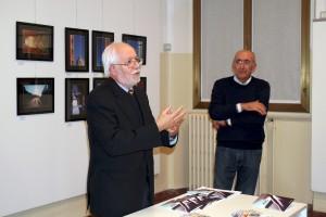 L'Assessore Mario Oldani intervenuto in rappresentanza del Comune