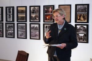 La curatrice del libro Franca Oberti