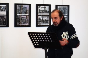 Il poeta dialettale Giancarlo Sala