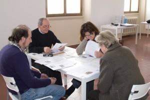 Giancarlo Sala, Grazio Coliandro, Doriana Limena e la Presidente della Giuria Franca Oberti