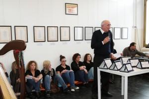 L'intervento del Presidente del fotogruppo Effeotto Giuseppe Gironi