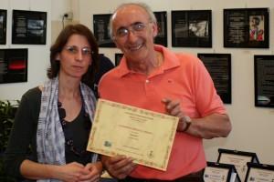 La finalista Alessandra Simona Columbaro