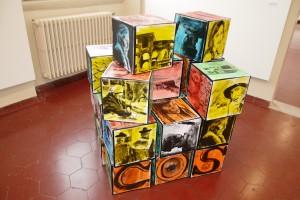 L'installazione di Raffaela Lamberti