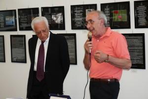 Il Sindaco Sergio Bagnato e il Presidente del fotogruppo Effeotto