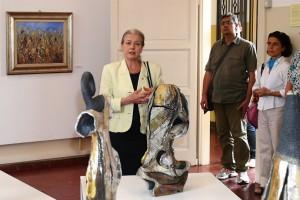 L'intervento del sindaco di Cernusco Giovanna De Capitani