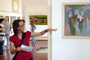 Presentazione delle opere a cura della dottoressa Priscilla Mancini