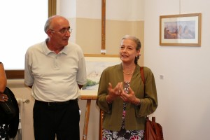 Il saluto del Sindaco Giovanna De Capitani e del presidente Giuseppe Gironi