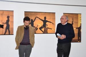 Riccardo Clerici con il Presidente Giuseppe Gironi