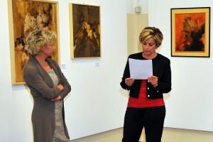 L'intervento della curatrice d'arte Flavia Chieregati
