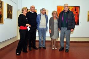 Foto di gruppo con Donato Frisia Jr.