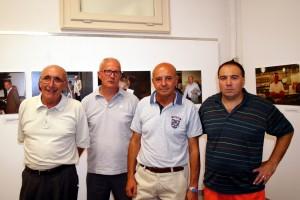 I fotografi Fulvio Galbiati e Giorgio Pennati tra il Presidente ed il Vicepresidente del fotogruppo Effeotto