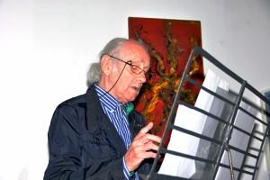 Il pittore Sandro Rigamonti