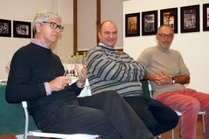 Cesare Motta, Giovanni Zardoni e Marco Casati