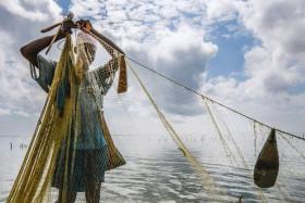 Pescatore africano - Francesca Salice di Carimate (CO)