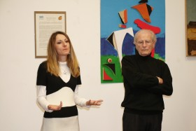 L'educatrice responsabile dell'Atelier Barbara Galbusera