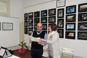 Stefania Spinelli premia Umberto Coro