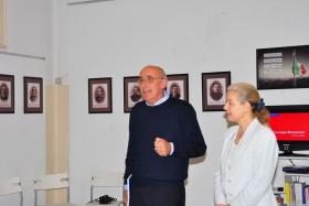 Il Presidente Giuseppe Gironi e il Sindaco Giovanna De Capitani