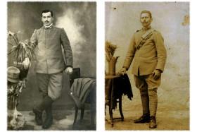 I soldati Luigi Cereda e Galdino Bonfanti