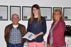 Silvia Motta con il fotografo Mauro Corneo e Silvana Ferrario membro di giuria