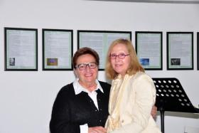Fiorella Borin con Iside Ferrario