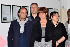 Gli attori della compagnia La Sarabanda