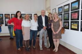 Un gruppo di docenti con il Preside Giordano Cereda