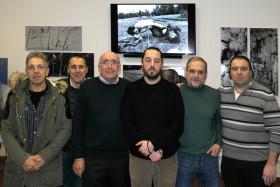 Roberto Viganò con i soci fondatori di Effeotto