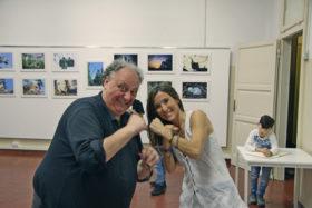 Il regista Dario Barezzi  e la Zoologa Roberta Castiglioni